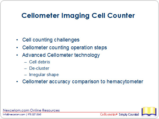 Why Use Image-based Cellometer