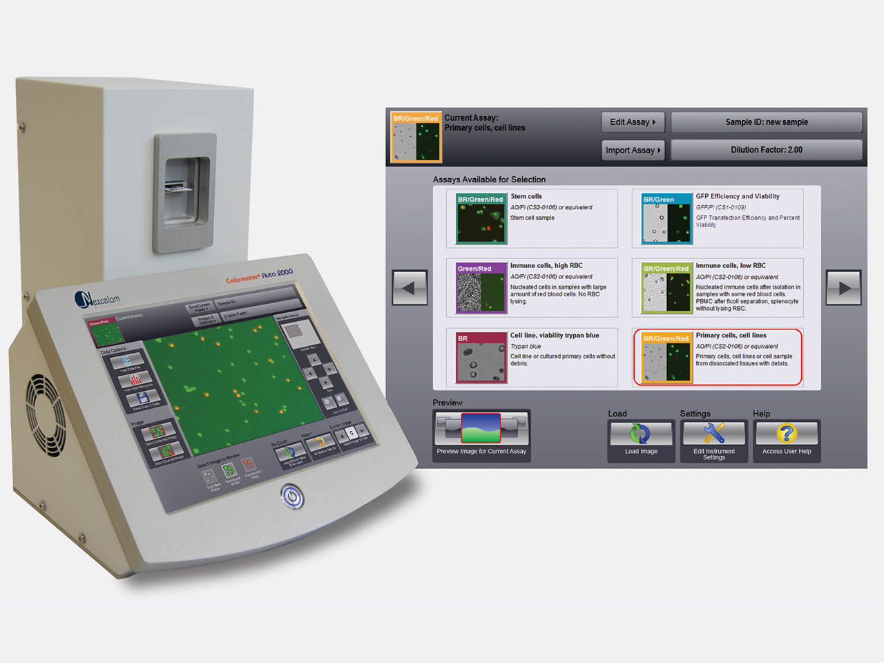 Auto 2000 Automated Cell Counter