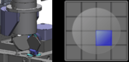 Celigo optics for fast whole-well images
