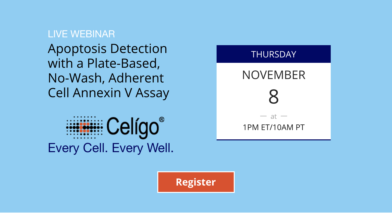 Apoptosis Detection with a Plate-Based, No-Wash, Adherent Cell Annexin V Assay