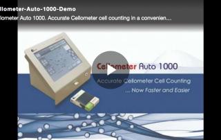 Cellometer Auto 1000 video demo