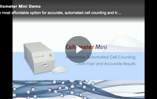 Cellometer Mini demo video