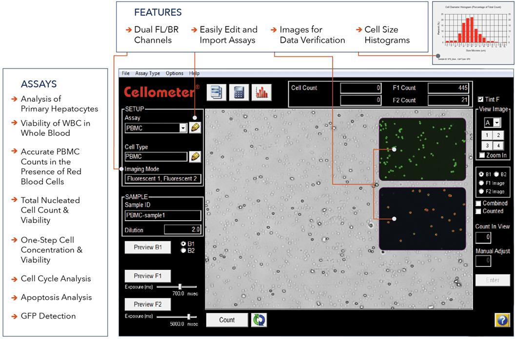 K2 software feature screenshot