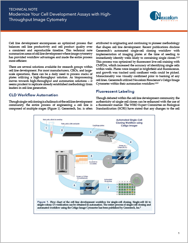 Cell Line Development Tech Note