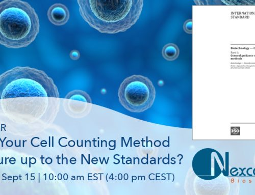 Webinar on Demand: ISO Cell Counting Standards