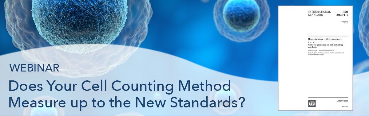 webinar iso cell counting standards