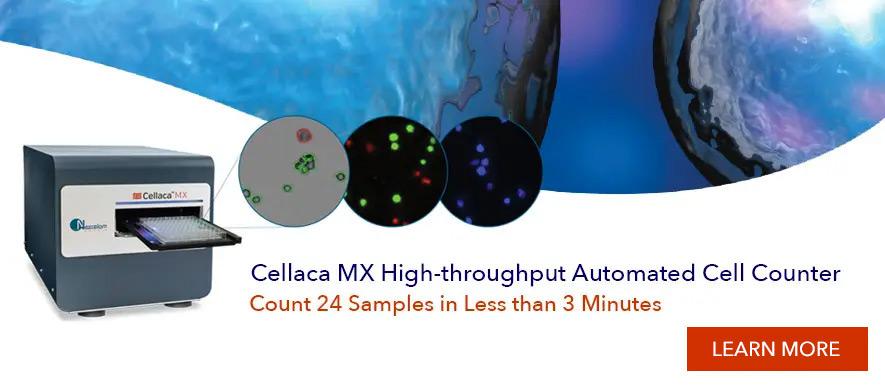 Cellaca MX High-throughput cell counter